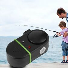 New Electronic LED Light Fish Bite Sound Alarm Bell Clip On Fishing Rod GH