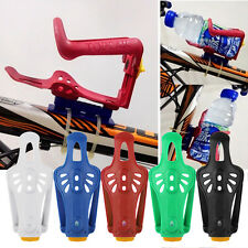 Cycling Bicycle Mountain Bike Adjustable Water Bottle Rack Cage Holder GH