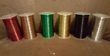 Stampin Up METALLIC THREAD 50 yards  - CHOOSE your Color (New & Sealed)