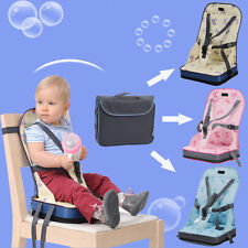 Portable Travel Dining Baby Toddler Feeding High Chair Foldable Booster Seat