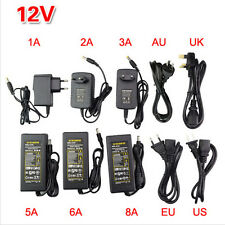 AC100-240V TO DC 5V 12V 24V Power Adapter Transformer Supply For LED Strip Light