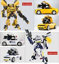 45cm Large Size Transformable Robot Car For kids Toy With Sound light version