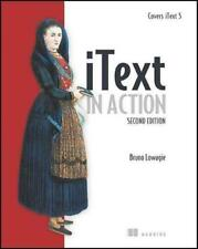 ITEXT IN ACTION - LOWAGIE, BRUNO - NEW PAPERBACK BOOK