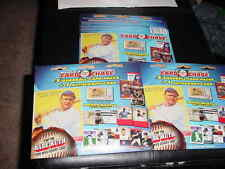 3~TRISTAR worlds greatest card chase packet~9 BASEBALL packs+3 GUARTD AUTO CARDS