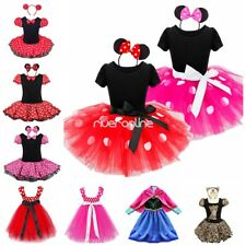 Baby Kids Girls Tutu Minnie Mouse Dress Up Halloween Holiday Party Headband Hot