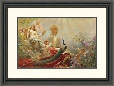 'The Toilet of Venus' by Constantin Makowsky Framed Painting Print