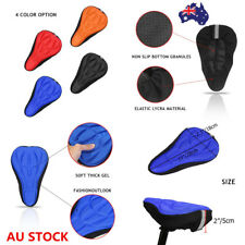 Bicycle Seat Cover Riding Saddle Cover Silicone Breathable Soft Comfort Cushion