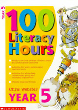 100 Literacy Hours: Year 5 (One hundred literacy hours), Chris Webster, Used; Go