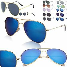Men Women Aviator Sunglasses Fashion 80s Retro Style Designer Shades UV400 Lens