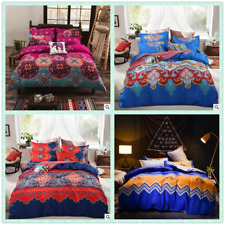 New Christmas Single/Queen/King Size Bed Quilt Duvet Cover Set Polyester