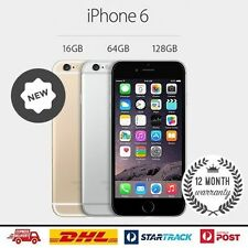 Apple iPhone 6 16GB 64GB 128GB (Factory Unlocked) 4G Gold Gray Silver Smartphone
