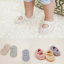 Cute Baby Girl Boy Toddler Infant Soft Cotton Boat Hole Floor Cotton Cozy Socks