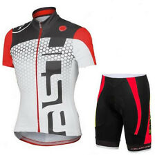 New Cycling Bike Shorts Jersey Sports Sleeve Set unisex Bicycle Short Wear Set