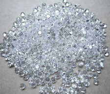 Tiny White/Clear Round Brilliant Cut Cubic Zirconia 1-1.9mm AAAAA CZ
