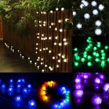 20 LED Solar String Light Waterproof Fairy Lamp Garden Wedding Xmas Party Decor
