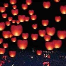 Sky Wedding Chinese Lanterns Fire Paper Lamp Flying 10 pcs Party Lantern Color