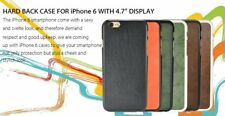 """New Best For Apple iPhone 6 4.7"""" PU Leather Hard back cases cover Cool skin"""