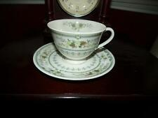 Royal Doulton Fine Bone China Provencal Tea Cup and Saucer Made in England