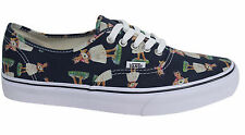 Vans Off The Wall Authentic Lace Up Hula Blue Unisex Plimsolls 4MKID9 D79