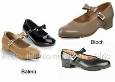 New Balera or Bloch Mary Jane MJ Buckle Tan Caramel or Black Dance Tap Shoes