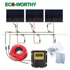Off Grid Solar System 250W to 750W Kit w/ Regulator for Home Power Charge RV AU