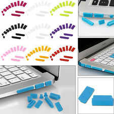 Anti Dust Plug Port Protective Case Cover for Laptop Macbook Air Retina New