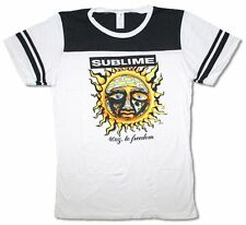 Sublime 40oz To Freedom Girls Juniors Football Jersey Shirt New Official Soft