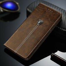 Luxury Magnetic Leather Case Flip Card Holder Wallet Cover For Samsung/iPhone