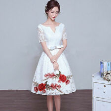 Embroidery Rose Flower Sew On Patch Badge Bag Hat Jeans Dress Applique Craft 2PC