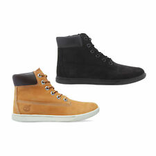 Timberland Groveton Classic 6 Inch Wheat Nubuck Leather Ankle Boots 4-6.5