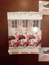 3 Bears Vs. Minn. Vikings 40 Yd. Line Tickets On Mon Oct. 9, 2017  Soldier Field