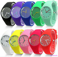 NEW Fashion Mens Gents Womens Ladies Silicon/Rubber newWrist Watch UNISEX PS