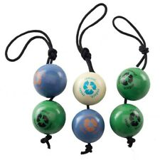 Orbee Tuff RECYCLE VALUE PACK BALLS ON A ROPE Dog Toy Colors Vary