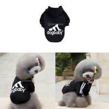 Pet Winter Sweater Dog Warm Coat Hoodie Jacket Gym Jumpsuit Jumper Warm Clothing