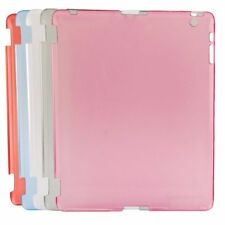 New Clear Crystal Hard Back Case Work with Smart Cover For iPad3rd