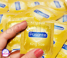 PASANTE King Size Condoms Large XL Wider and Longer Variety pcs 20 30 50 100