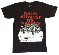 Rage Against The Machine Skull Suits Black T Shirt New Official Band Merch RATM