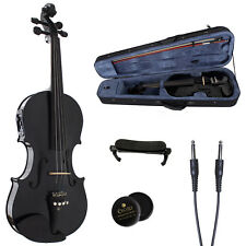 4/4 electric Acoustic violin Maple Spruce wood violin case Bow Yinfente Brand