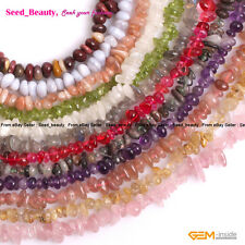 """4-6x7-10mm Natural Freeform Chips Beads for Jewelry Making 15"""" Wholesale Beads"""