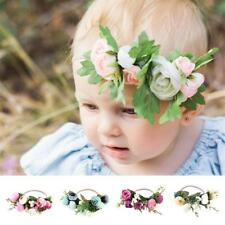 Kid Girl Baby Toddler Infant Flower Headband Hair Bow Band Hair Accessories