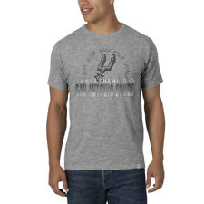 San Antonio Spurs 47 Brand 2014 NBA Champions 5 Times Heather Gray Scrum T-Shirt
