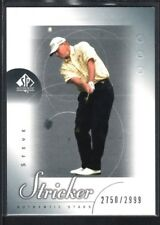 STEVE STRICKER 2001 UD SP AUTHENTIC GOLF #52 RC ROOKIE STARS #2750/2999