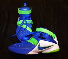 Nike LEBRON JAMES soldier basketball sneakers shoes high tops boys youth 7 Y