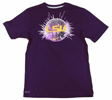 Nike - Licensed LSU Tigers Basketball Purple T-Shirt - Sizes: Large, XL, XXL
