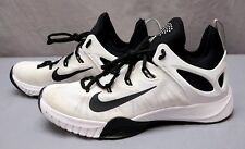 NEW NIKE ZOOM HyperRev BASKETBALL SHOES MENS Size 8 Black White Mesh Swoosh