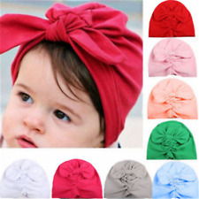 Cute Baby Boy Girl Infant Newborn Warm Beanie Cotton Wrapped Cap Turban Hat Gift