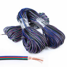 Newly 4-Pin 22AWG Extension Cable Wire RGB Connector for LED 5050 Strip