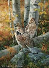 Rosemary Millette Late Season Solitude - Ruffed Grouse Remarqued
