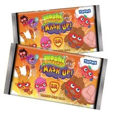 TOPPS MOSHI MONSTERS TRADING CARDS GAME ~ MASH UP SERIES 2 ~ CHOOSE YOUR AMOUNT