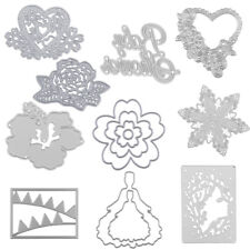 Metal DIY Cutting Dies Stencil Scrapbook Paper Embossed Christmas Card Decor